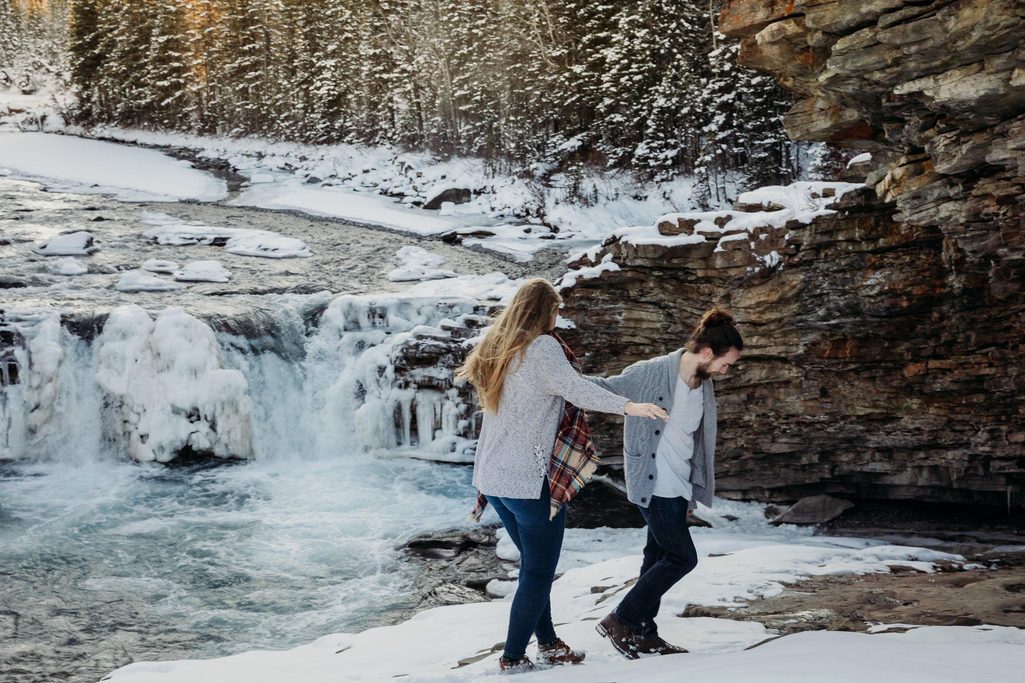 AshleyDaphnePhotography Calgary Photographer Wedding Engagement Sheep River Provincial Park Photos Kananskis Rocky Mountain Canmore Photographer_0057.jpg