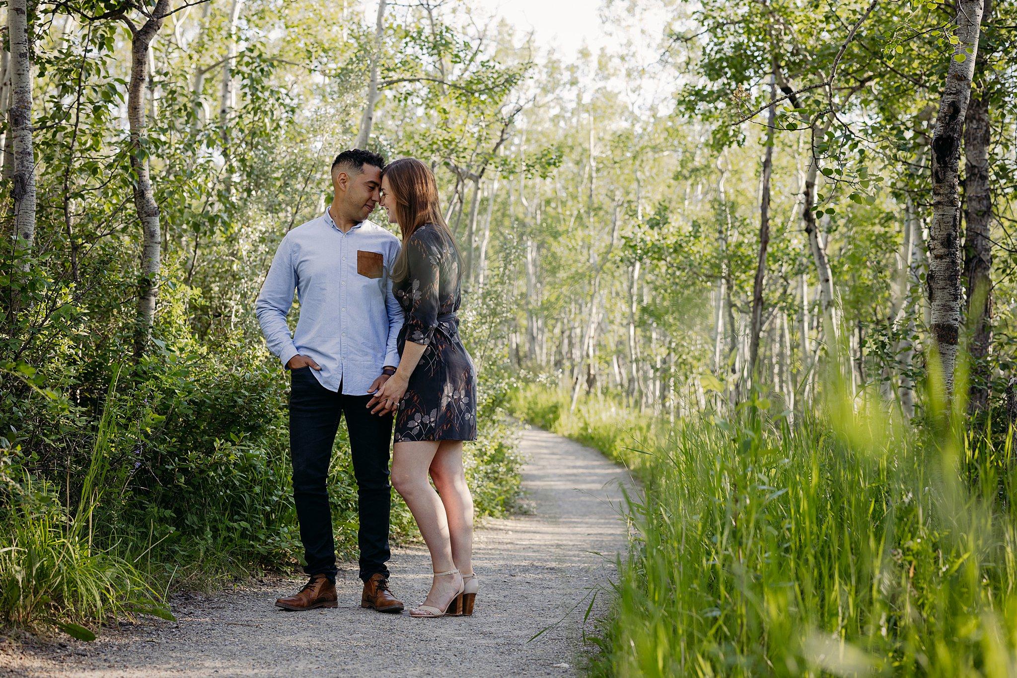 Ashley Daphne Photography Calgary Wedding Couple Family Photographer YYC Engagement Photographer Glenbow Ranch Provincial Park Engagement Photos Couple Photography_0022.jpg