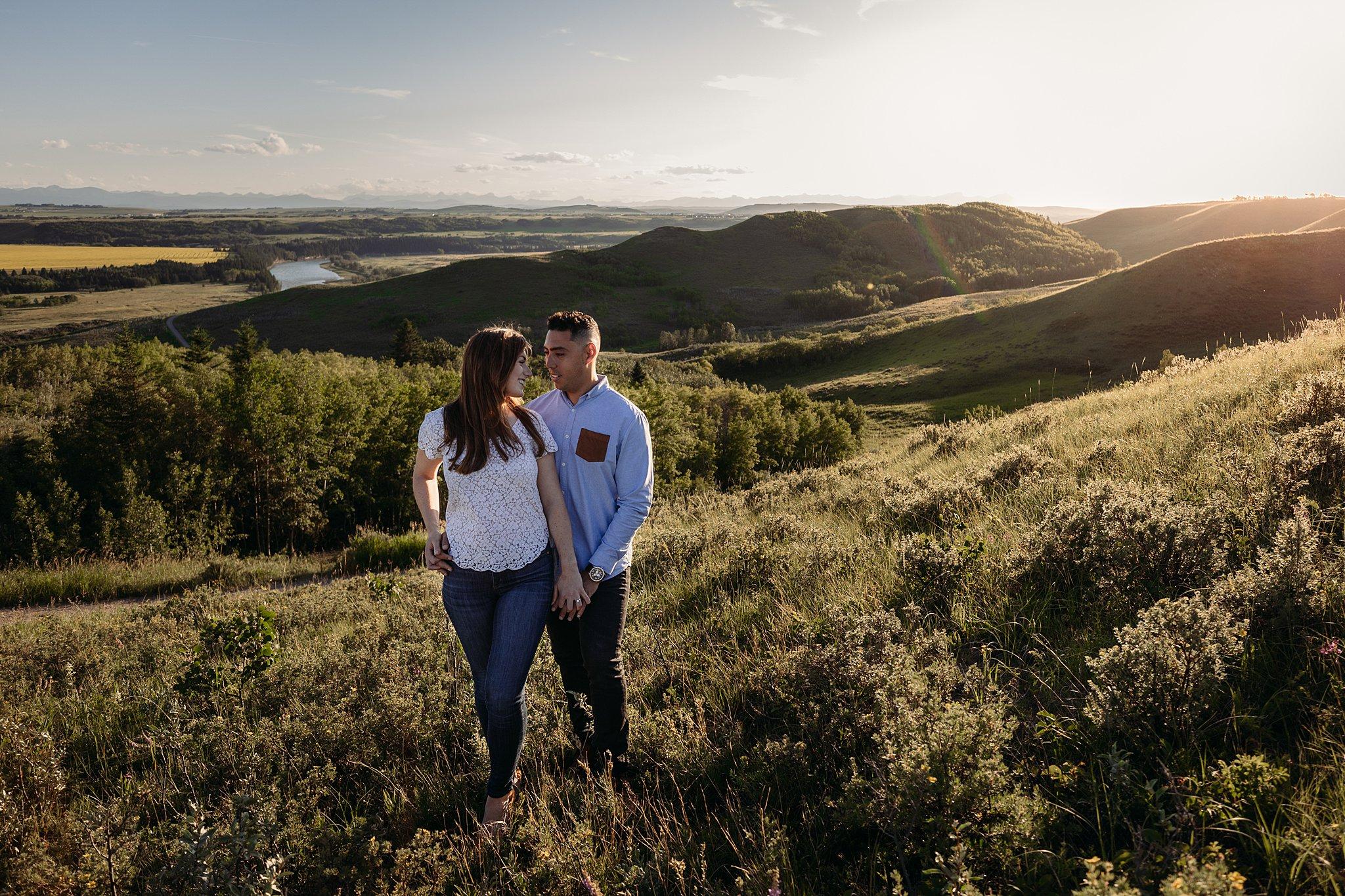 Ashley Daphne Photography,Calgary wedding photographer,Engagement photographer,Glenbow Ranch Provincial Park,alberta,engagement photos,golden hour,yyc wedding photographer,