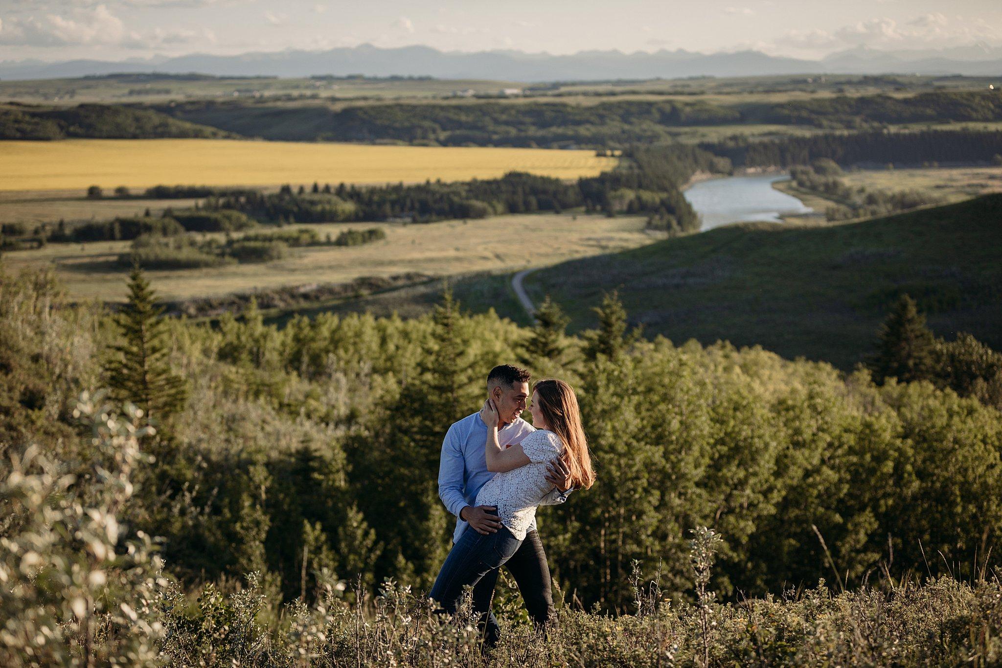 Ashley Daphne Photography Calgary Wedding Couple Family Photographer YYC Engagement Photographer Glenbow Ranch Provincial Park Engagement Photos Couple Photography_0039.jpg